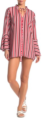 Maaji Tuscan Sun Striped Cover-Up Tunic