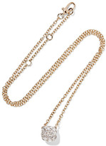 Pomellato Nudo 18-karat Rose And White Gold Diamond Necklace - Rose gold