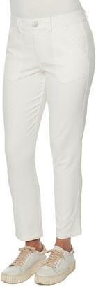 Wit & Wisdom Ab-Solution High Waist Straight Leg Utility Jeans