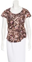 Isabel Marant Printed Linen Top w/ Tags