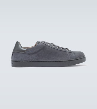 Gianvito Rossi Exclusive to Mytheresa - low top suede sneakers