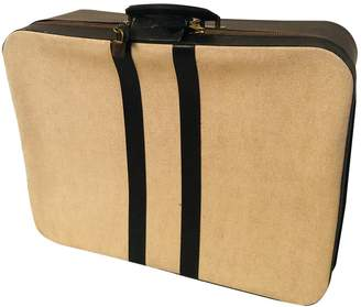 Hermes Beige Cloth Travel bags