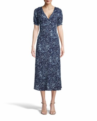 Nicole Miller Evening Garden Midi Dress