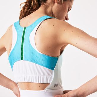 Lacoste Women's SPORT Roland Garros Asymmetrical Pleated Dress