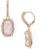 Alexis Bittar Crystal Leverback Drop Earrings