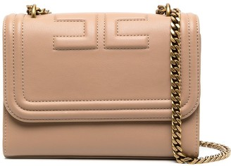 Elisabetta Franchi Medium Faux Leather Shoulder Bag