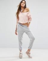 Juicy Couture Black Label Silver Lack Pant