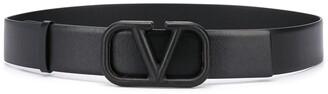 Valentino adjustable VLOGO buckle belt