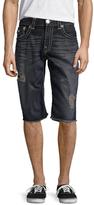 True Religion Straight Cut-Off Shorts