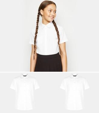 New Look Girls 2 Pack Short Sleeve Shirts