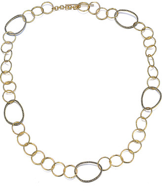 Genevive 14K Over Silver Cz Necklace