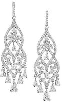 Cezanne Victoria Cubic Zirconia Chandelier Earrings