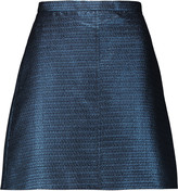Carven Metallic jacquard mini skirt