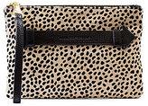 Aimee Kestenberg Melville Cheetah-Print Haircalf Large Pouch