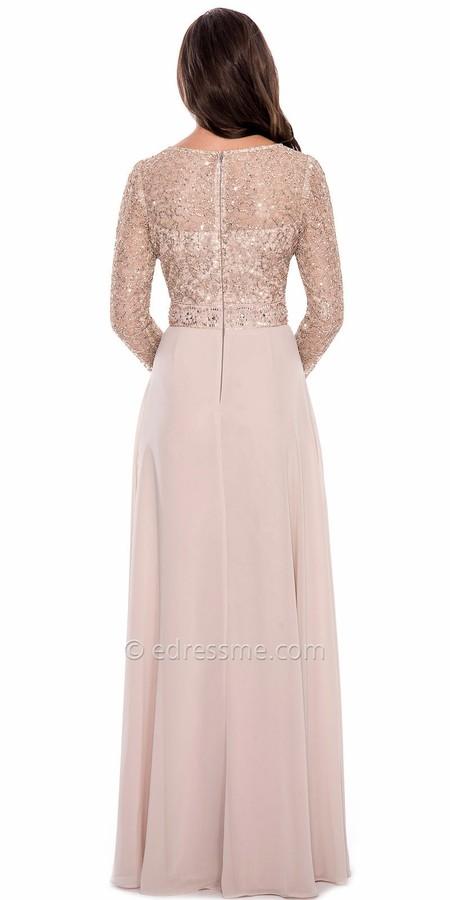 Decode 1.8 3/4 Shimmering Embellished Evening Dress