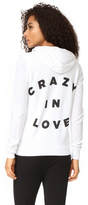 Sundry Crazy In Love Zip Hoodie