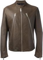 Maison Margiela leather sports jacket