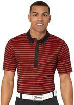 Puma Stripe Pocket Golf Polo Shirt