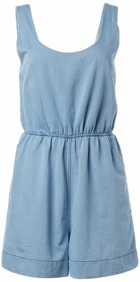 French Connection Women's Chambray Romper