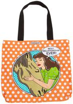 Best Relationship Tote Bag in Orange