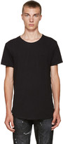 R 13 Black Pocket T-shirt