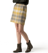Tommy Hilfiger Wool Sunset Plaid Skirt