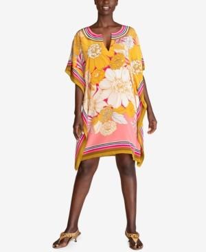 Trina Turk Theodora Silk Printed Dress