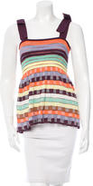 M Missoni Open Knit Patterned Top w/ Tags