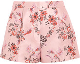 Stella McCartney Floral-jacquard Shorts - Blush