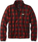 L.L. Bean Bean's Sweater Fleece Pullover, Buffalo Plaid