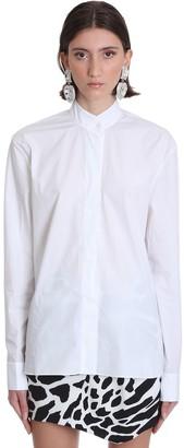 Alexandre Vauthier Shirt In White Cotton