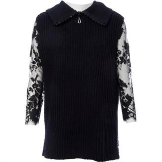 Huishan Zhang Black Wool Knitwear for Women