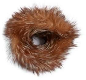 Adrienne Landau Knit Fox Fur Headband