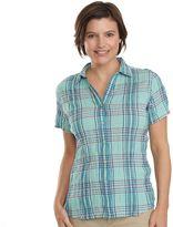 Woolrich Women's Carrabelle Plaid Button-Down Shirt