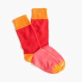 Corgi CorgiTM colorblock cashmere socks