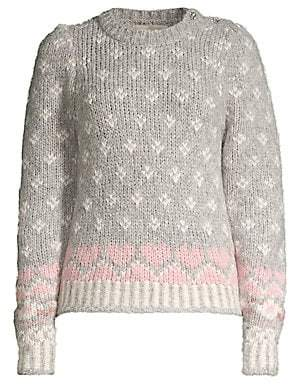 LoveShackFancy Women's Rosie Knit Sweater