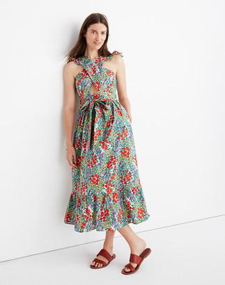 Madewell Banjanan Cecil Midi Dress