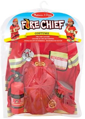 Melissa & Doug Fire Chief Children's Costume, 3-6 years