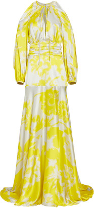 Silvia Tcherassi Benevento Printed Silk Maxi Dress
