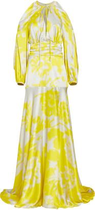 Silvia Tcherassi Benevento Printed Silk Maxi Dress