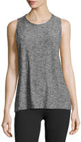 Beyond Yoga Featherweight Space-Dye Twisted Open-Back Tank