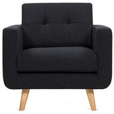 Oslo Lounge Chair, Black