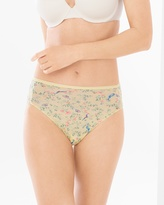 Soma Intimates Microfiber High Leg Brief