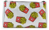 Forever 21 FOREVER 21+ French Fry Print Makeup Bag