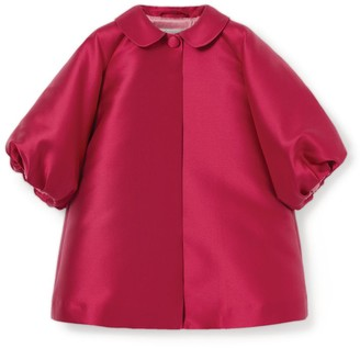 Il Gufo Balloon Sleeve Coat (3-12 Years)