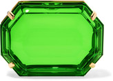 Charlotte Olympia A Girl's Best Friend Perspex clutch