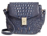 Brahmin Melbourne - Lizzie Leather Crossbody Bag - Blue