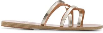 Ancient Greek Sandals metallic strappy sandals