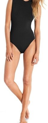 Seafolly Active Cap Sleeve One Piece