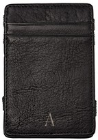 Cathy's Concepts Women's 'Magic' Monogram Leather Wallet - Black